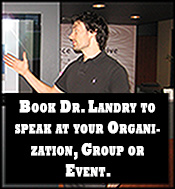 Dr Sean Landry Westisland Chiropractor Speak